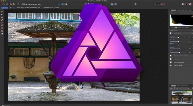 Een Raw-foto ontwikkelen in Affinity Photo
