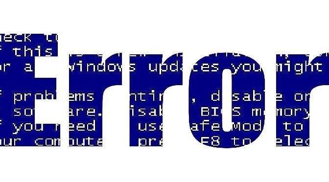 Wéér foute boel met Windows 10 1809