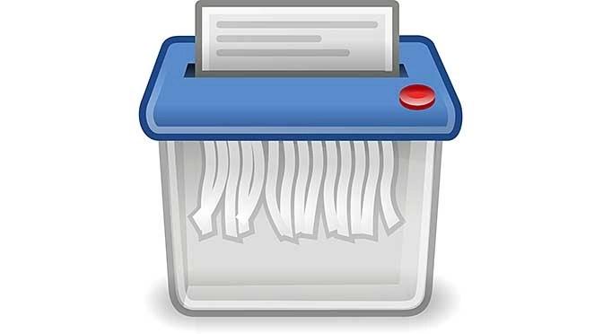 Windows 10 upgrade delete alle gebruikersbestanden (bron afbeelding: https://pixabay.com/nl/prullenbak-recycle-bin-shredder-97586/)
