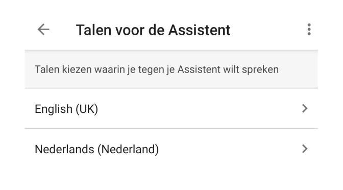De Google Home-speakers verstaan en spreken nu Nederlands