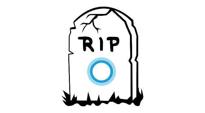 Cortana nadert einde