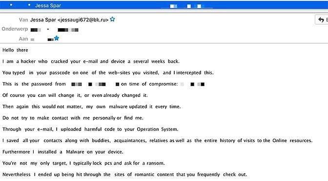 Mail van een hacker? Lekker negeren!