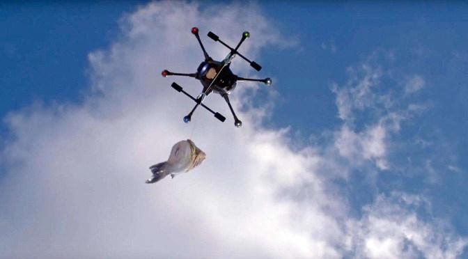 Dronevideo's maken met Wiebe de Jager