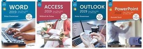 De Office 2019-boeken