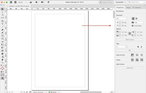 Design CC2019 nieuwe interface met Eigenschappenpaneel