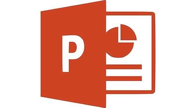 PowerPoint is de gouden standaard als het om presentatiesoftware gaat (bron afbeelding: https://pl.wikipedia.org/wiki/Plik:Microsoft_Office_PowerPoint_(2013%E2%80%93present).svg)