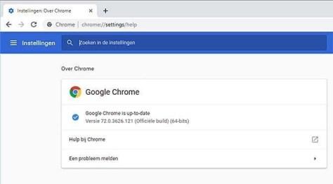 Browser Chrome bevat een ernstig veiligheidslek, snel updaten dus!