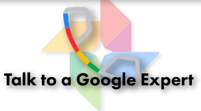 Google One Support en hun oplossingen voor de sychronisatieproblemen met Google Foto's en een iPad