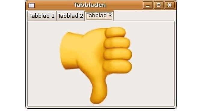 Tabbladen in Windows 10, vergeet het maar (bron afbeelding: https://nl.m.wikipedia.org/wiki/Bestand:Tabs_example_nl.png)