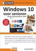 Het boek Windows 10 voor Senioren, 4e editie door Victor Peters