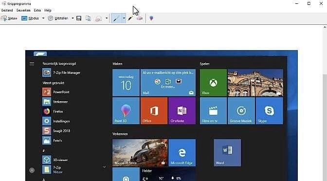 Schermafdrukken maken in Windows