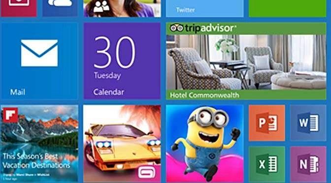 Weg met de reclame-apps in het startmenu van Windows 10! (bron afbeelding: https://www.flickr.com/photos/jiff01/15382135676)