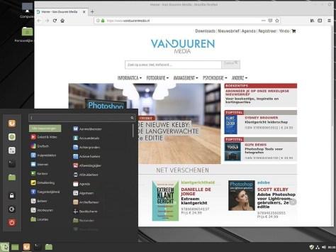 Iedere Windowsgebruiker zal zich direct thuisvoelen in Linux Mint