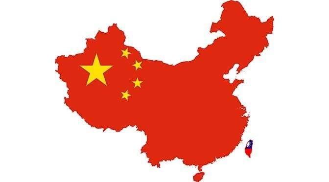 Huawei heeft altijd nog het grote China als afzetmarkt (bron afbeelding: https://commons.wikimedia.org/wiki/File:Flag_map_of_China_%26_Taiwan.png)