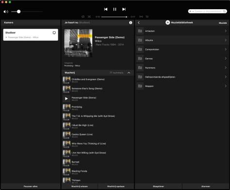 Dit is de Sonos-applicatie, niet iTunes.