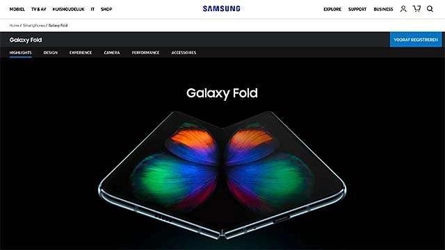Samsung gaat het weer proberen met de Samsung Fold