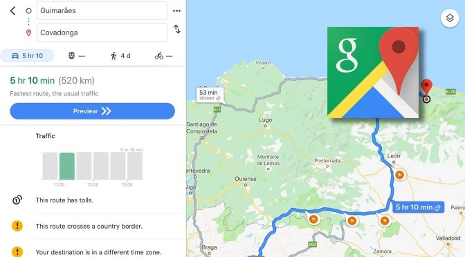 Steeds minder privacy online: Google Maps op iOS