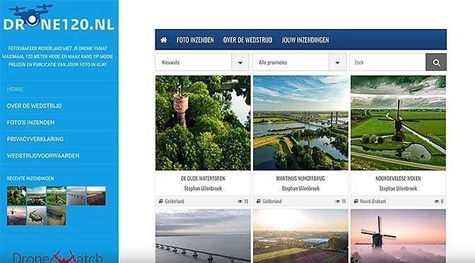 Fotowedstrijd Drone120.nl van start