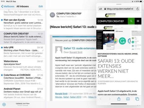 iPadOS een nieuw besturingssysteem