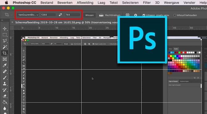 Handig: presets voor uitsnijden in Photoshop
