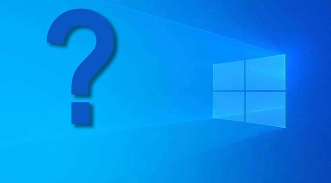 De toekomst van Windows 10