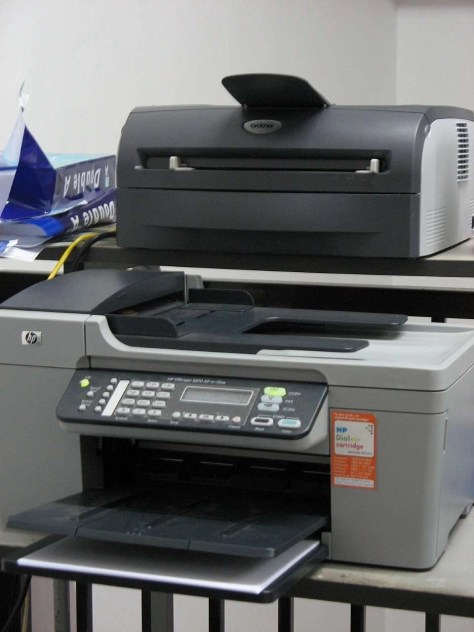 laserprinter of inkjetprinter