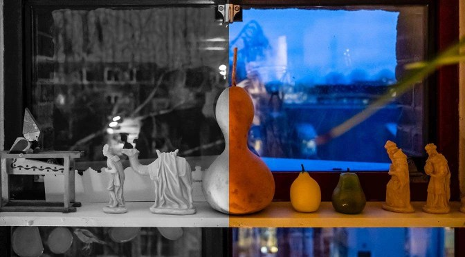 Van kleur naar zwart-wit in Lightroom Classic