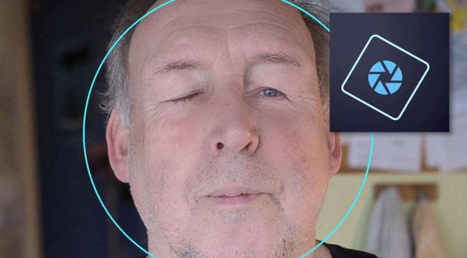 Gesloten ogen openen in Photoshop Elements 2020