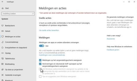 Windows advertenties