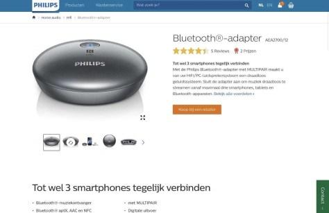 Audio streamen met iPad en iPhone