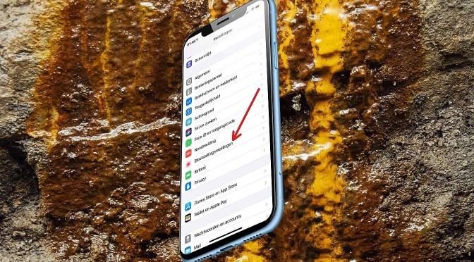 iOS 13.7 geeft COVID meldingen