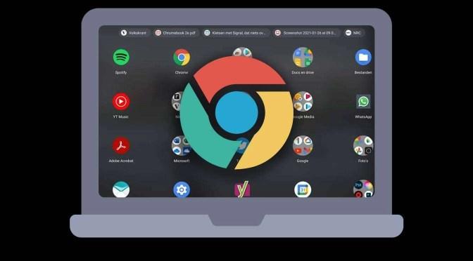 Ronald Smit: 'Een Chromebook sluit naadloos aan op het online leven'