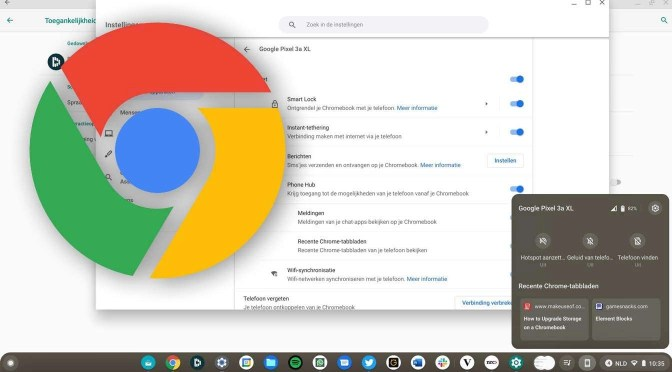 Leuke vernieuwingen in Chrome OS 89
