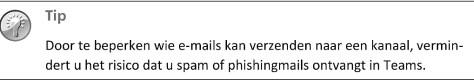 E-mailgesprekken naar Teams verplaatsen