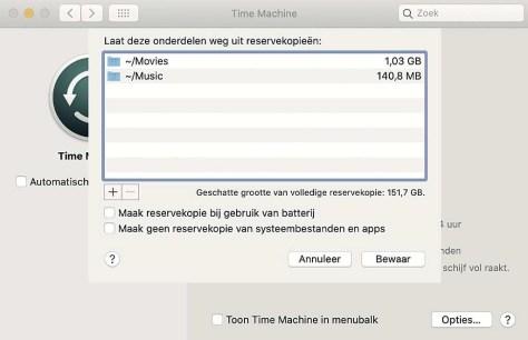 back-up in macOS
