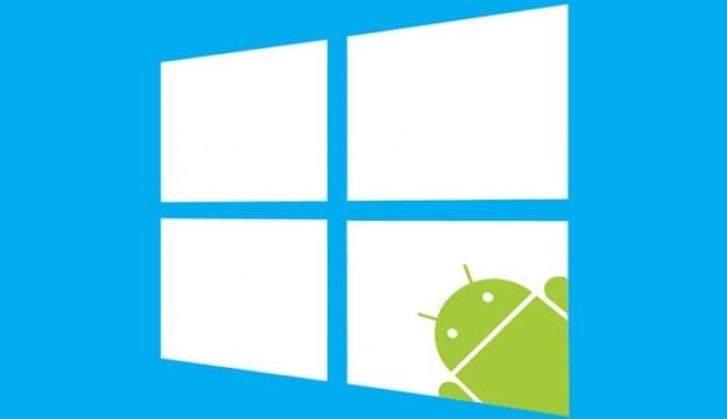 Windows 10 será compatible con App Android