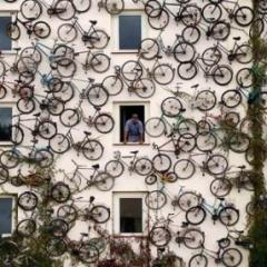 Un condominio per le bici, made in Germany