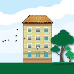 Zanzariere in condominio: non alterano la facciata