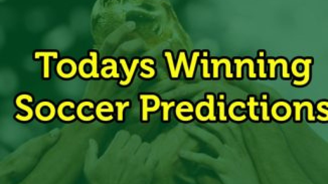 Sure win soccer predictions today/betting sport betting usa legal online