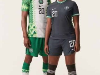picture of the new nigerian jersey