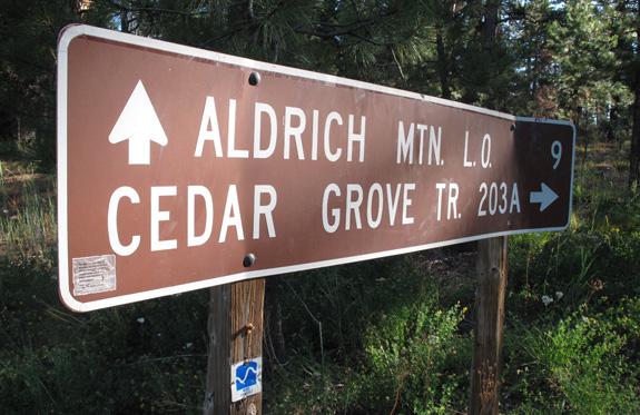 Aldrich Mountains Oregon