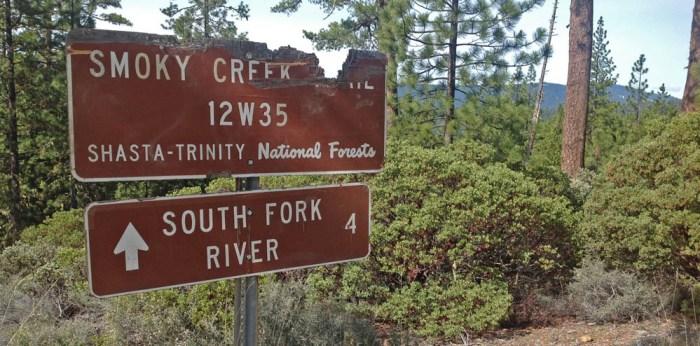 Smokey Creek Trail.