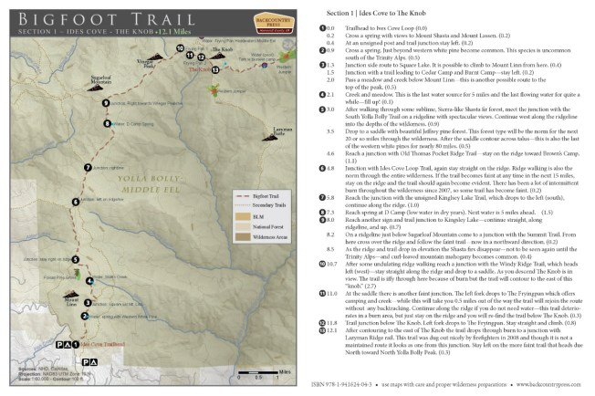 Section1_Bigfoot-Trail-Map
