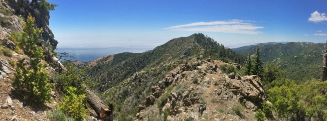 Cone Peak is in the Los Padres National Forest on the edge of the Ventana Wilderness