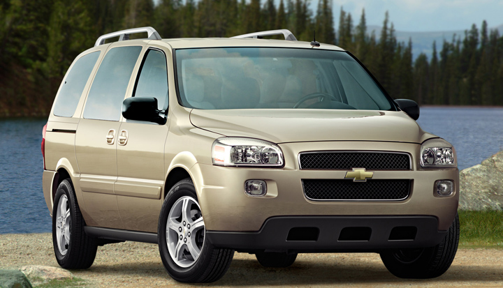 Did The Chevrolet Uplander And Buick Terraza Pontiac