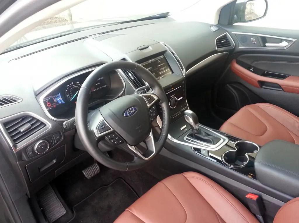 Test Drive 2015 Ford Edge Titanium The Daily Drive
