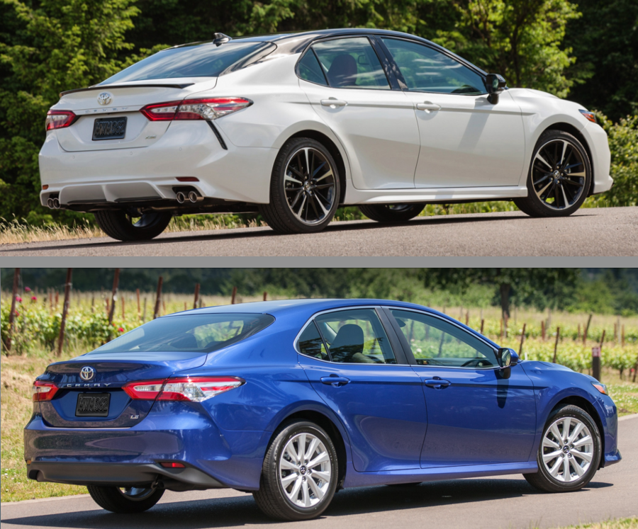 2018 toyota camry the daily drive