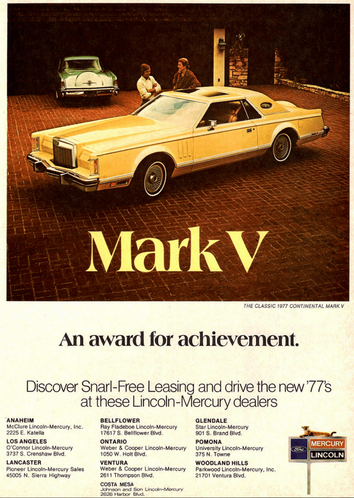 Model Year Madness 10 Classic Ads From 1977 The Daily