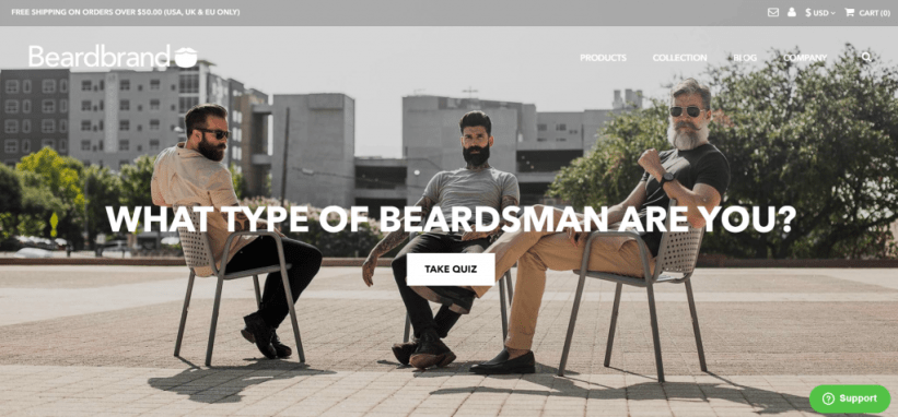 Shopify Shop - Beardbrand