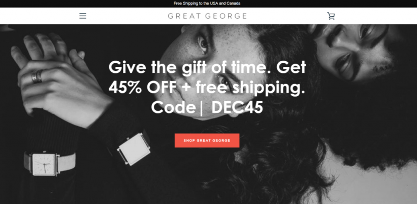 Shopify Store: Great George
